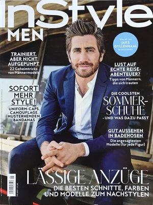 Instyle | Beitrag über aktuelle Trendschnitte für unsere Herren vom 13.03.2017 | Cover