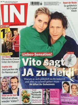 In | Beitrag im Magazin In vom 09.06.2016 über den Boxing Braid | Cover | Friseur München