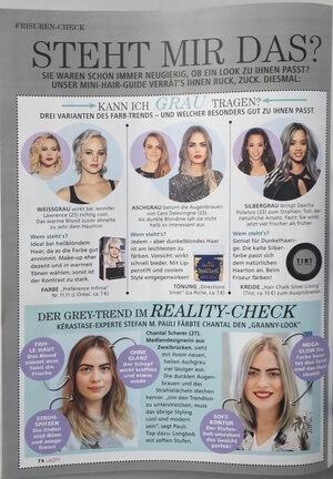 Joy | Beitrag im Magazin Joy vom 13.08.2016 über den Granny-Look | Seite 2 | Friseur München