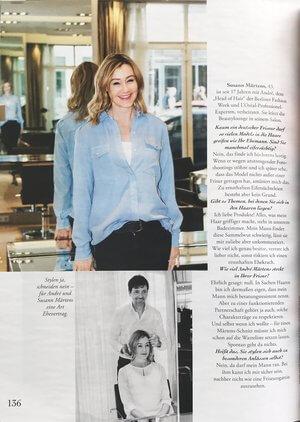 Myself | Beitrag im Magazin Myself vom 07.06.2017 | Seite 3 | Friseur München