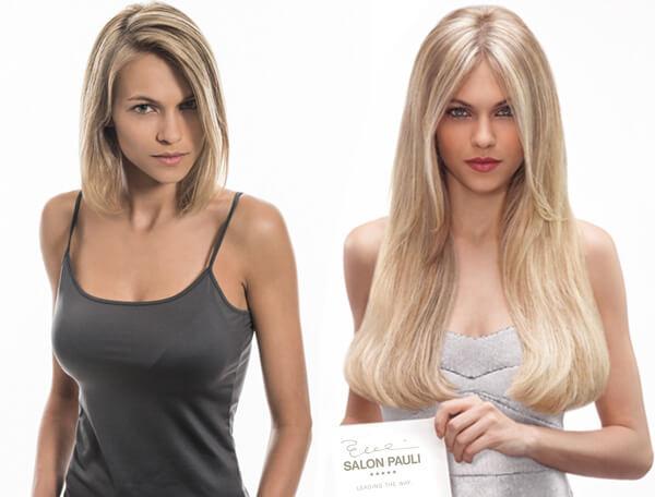 Haarverlängerung | Längeres Haar durch Extensions von Salon Pauli ! Friseur München